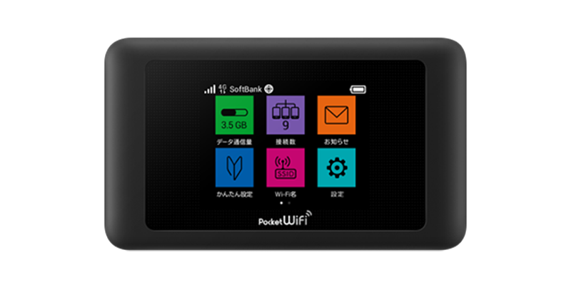 SoftBank 601HWの本体